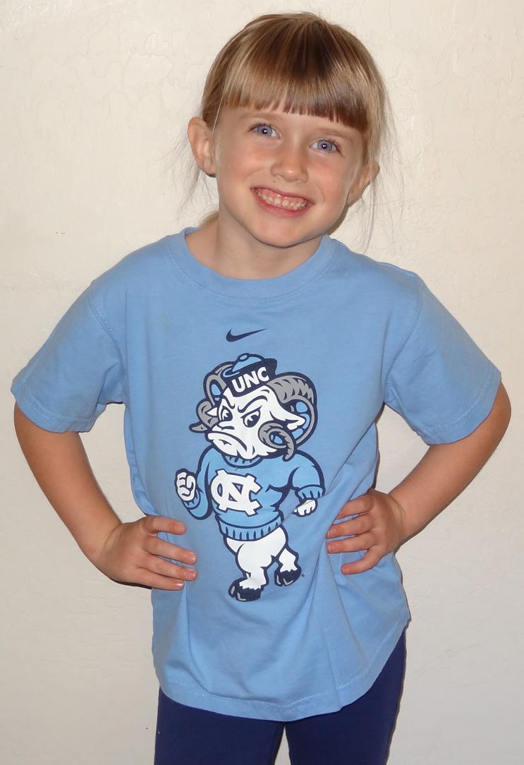 Mia Moore Tar Heel Girl 2013